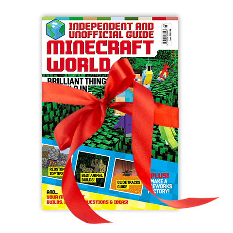 minecraft world magazine gift subscription