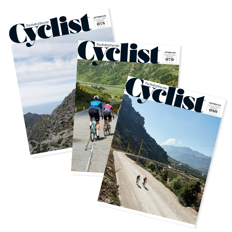Cyclist magazine - 3 issues for £5