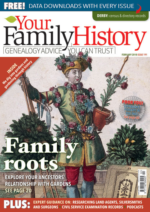 Your Family History | A note about Your Family History