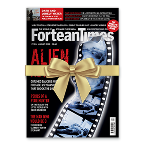 Fortean Times Christmas 2020 Cover