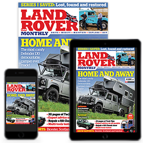 Land Rover Monthly Print and Digital