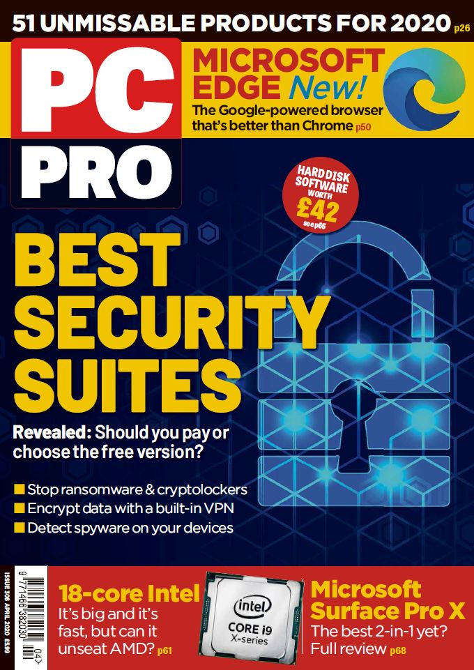 PC Pro cover April 2020 - issue number 306