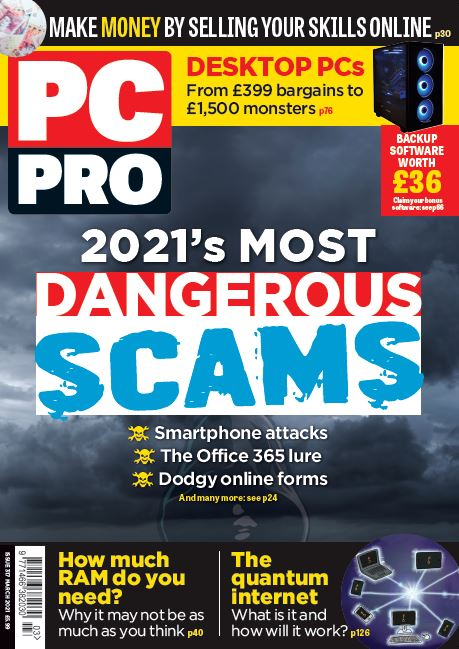 PC Pro cover March 2021 - issue number 317