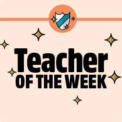 Teacher of the week image