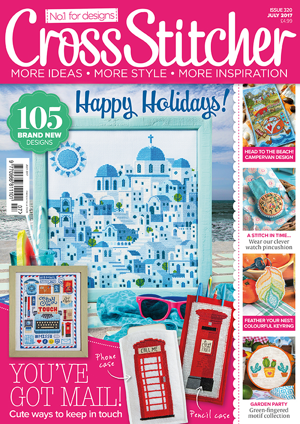 CrossStitcher Mag July 2017