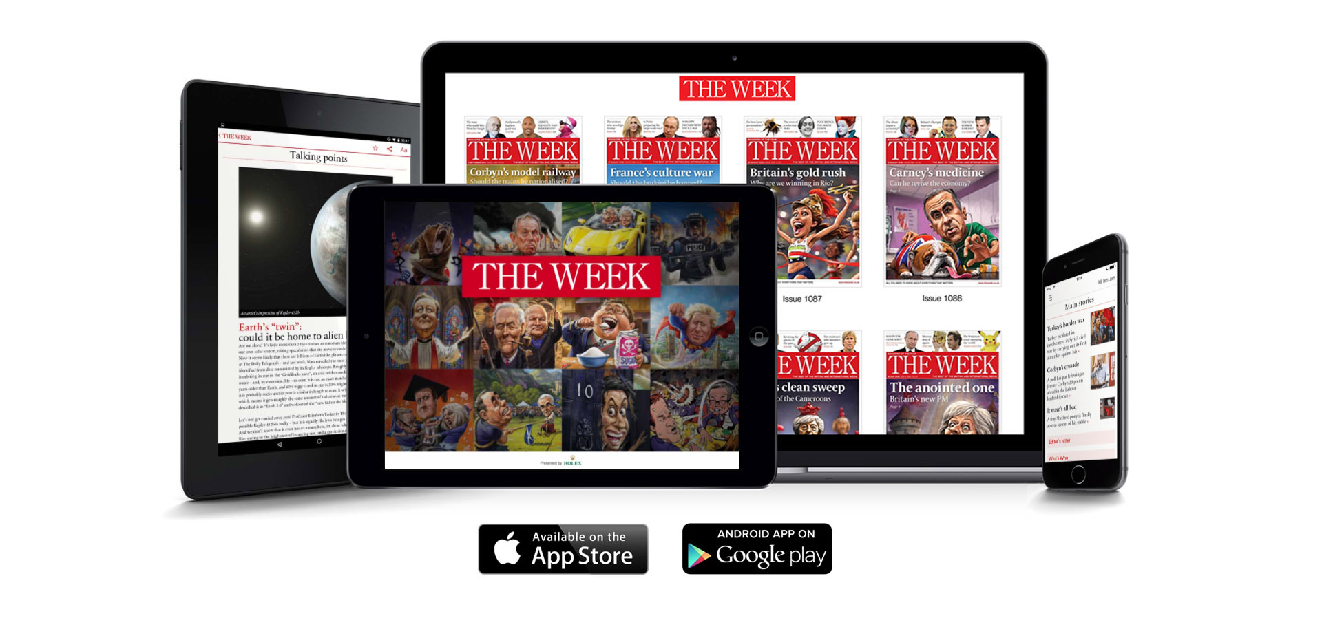 Have The Week magazine at your fingertips, wherever you go.