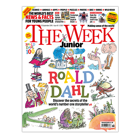 The Week Junior magazine