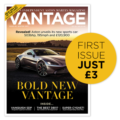 Vantage Home page cover