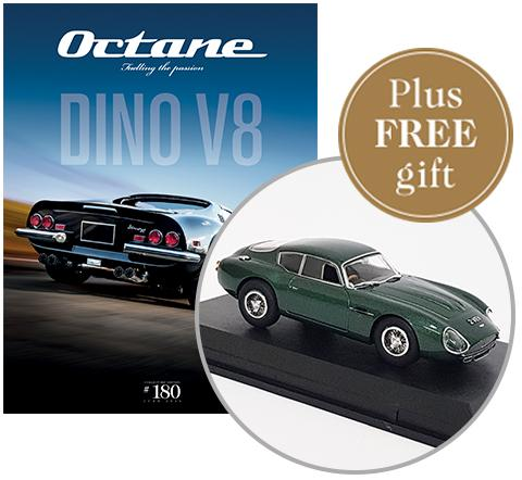 5 issues of Octane plus a free welcome gift