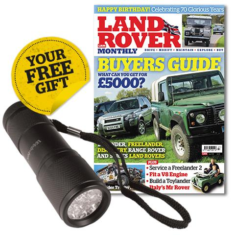 Land Rover Monthly 20th Anniversary offer