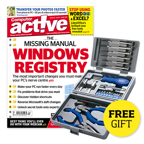 Computeractive Subscription and a free gift