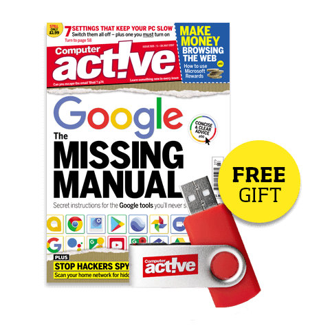 Subscribe to Computeractive plus receive a free gift