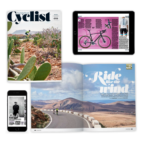 Cyclist Magazine Spreads