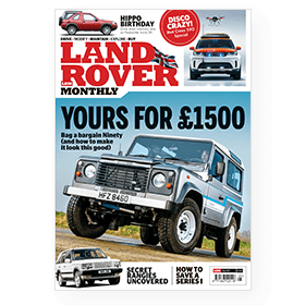 Print subscription to Land Rover Monthly