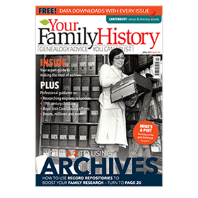 Your Family History print subscription