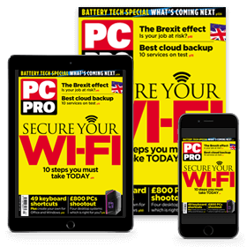 PC Pro overseas print + digital subscription