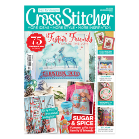 crossstitcher cover