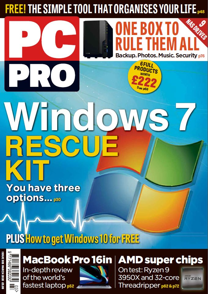 PC Pro cover March 2020 - issue number 305