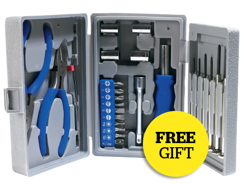 Computeractive Free 26-piece PC Repair Kit