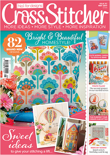 CrossStitcher overseas mag