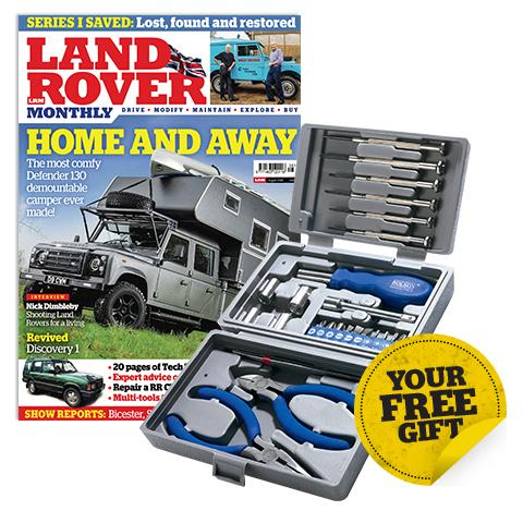 Land Rover Monthly subscriptions