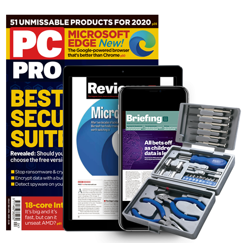 PC Pro - get 3 issues for £1 + FREE gift