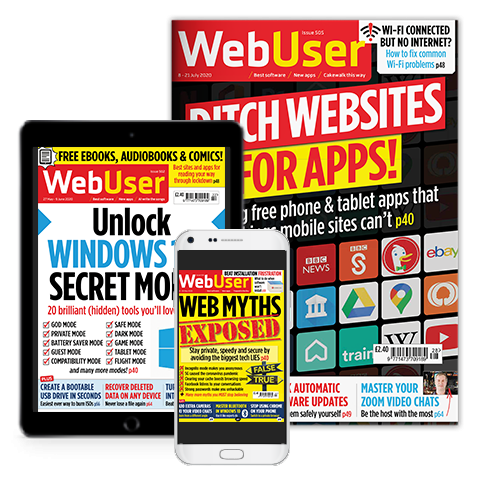 Web User Magazine - Print and Digital