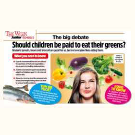 Should children be paid to eat their greens