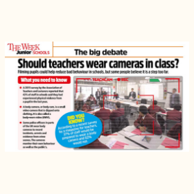 Should teachers wear cameras in class?