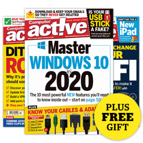 Computeractive Print Magazine and Free Gift
