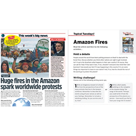 Topical Tuesdays – Amazon Fires