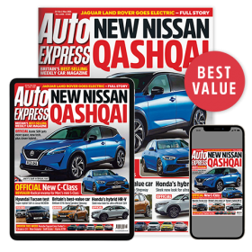 Auto Express Print + Digital Cover